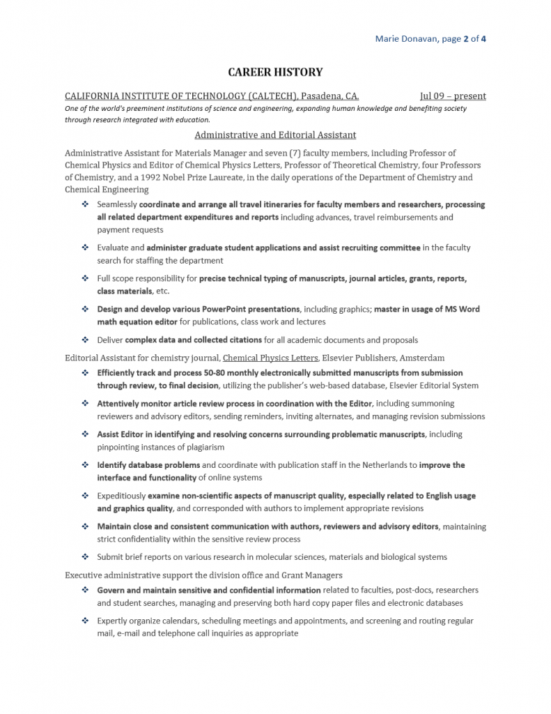 Resumes Next Step Search Amp Resume