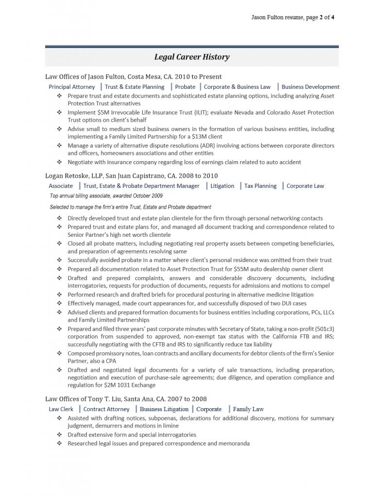 Trust & Estate Attorney ii