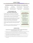 Mid-Senior Level Resume- 6-8 Years